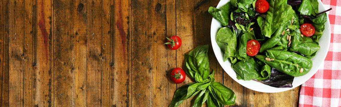 Summer tomato salad with fresh basil and bocconcini image