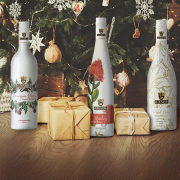 Christmas wine gifts all wrapped up for you Mobile Image
